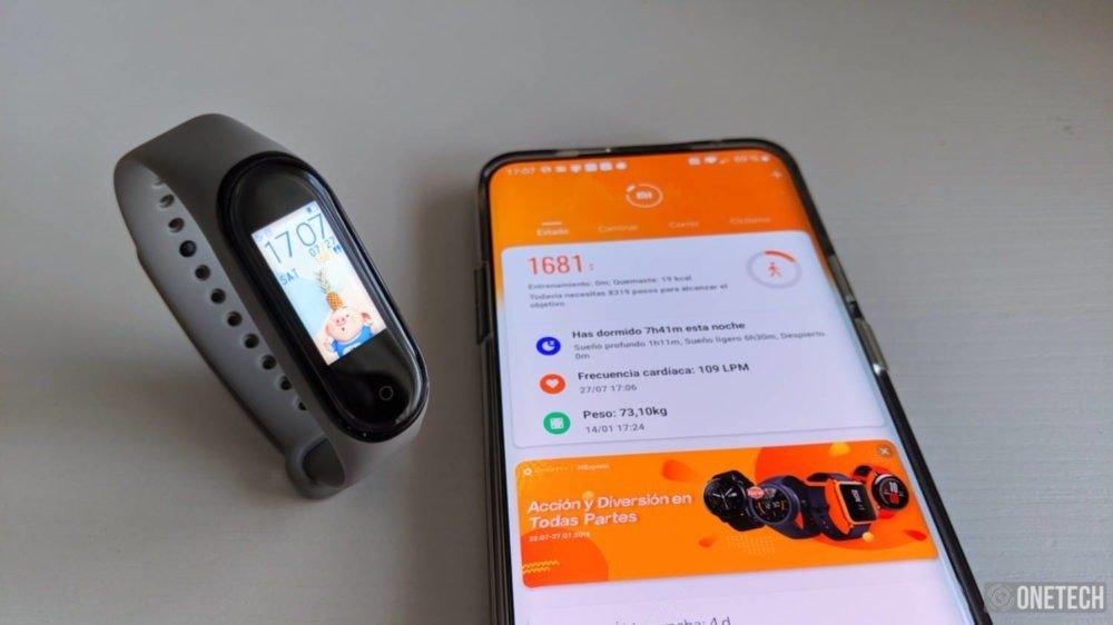 Xiaomi Mi Smart Band 4, análisis a fondo y opinión 11