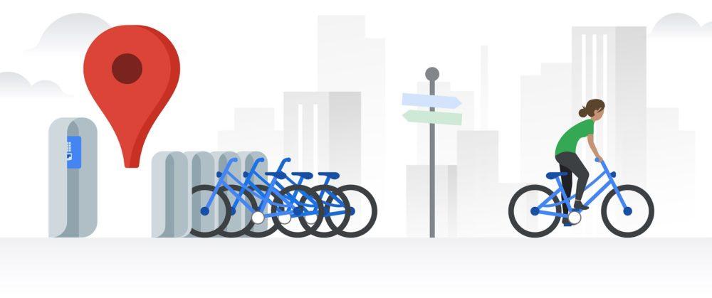 Google Maps te ayuda a alquilar una bici para moverte en Madrid y Barcelona