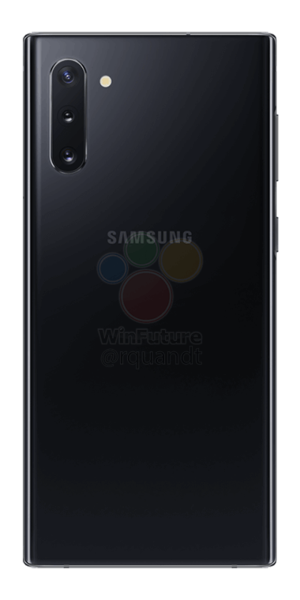 Samsung Galaxy Note 10, ahora en imágenes oficiales 1