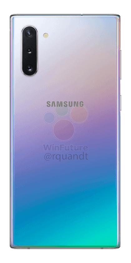Samsung Galaxy Note 10, ahora en imágenes oficiales 4