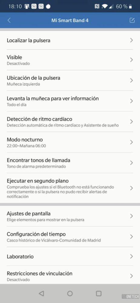 Xiaomi Mi Smart Band 4, análisis a fondo y opinión 17