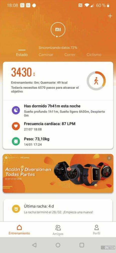 Xiaomi Mi Smart Band 4, análisis a fondo y opinión 12