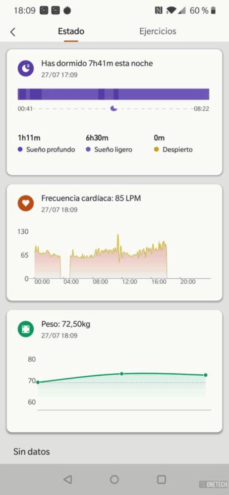 Xiaomi Mi Smart Band 4, análisis a fondo y opinión 13