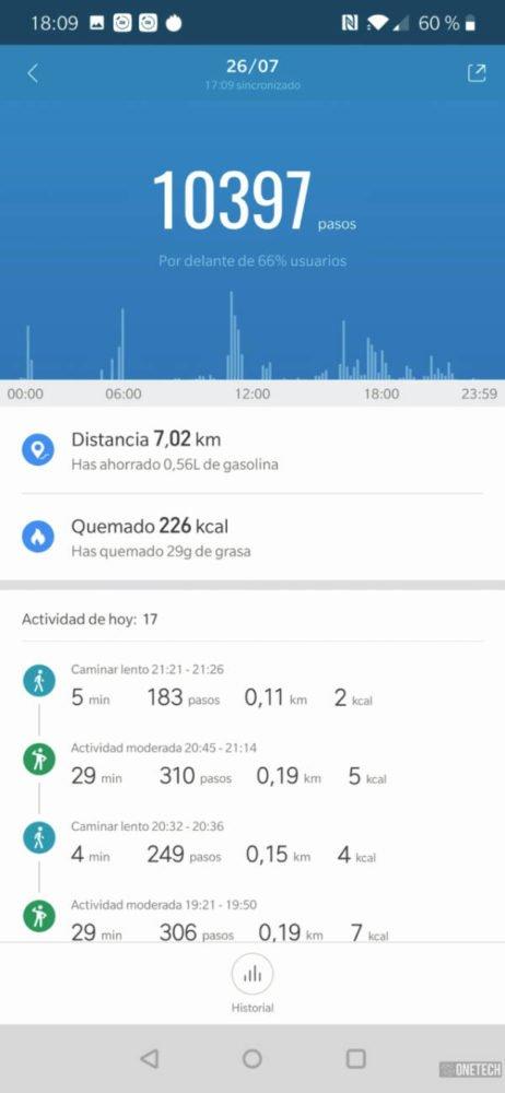 Xiaomi Mi Smart Band 4, análisis a fondo y opinión 14