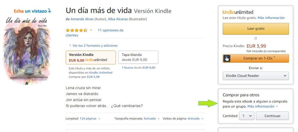 Ya puedes regalar eBooks desde Amazon a tus amigos 1