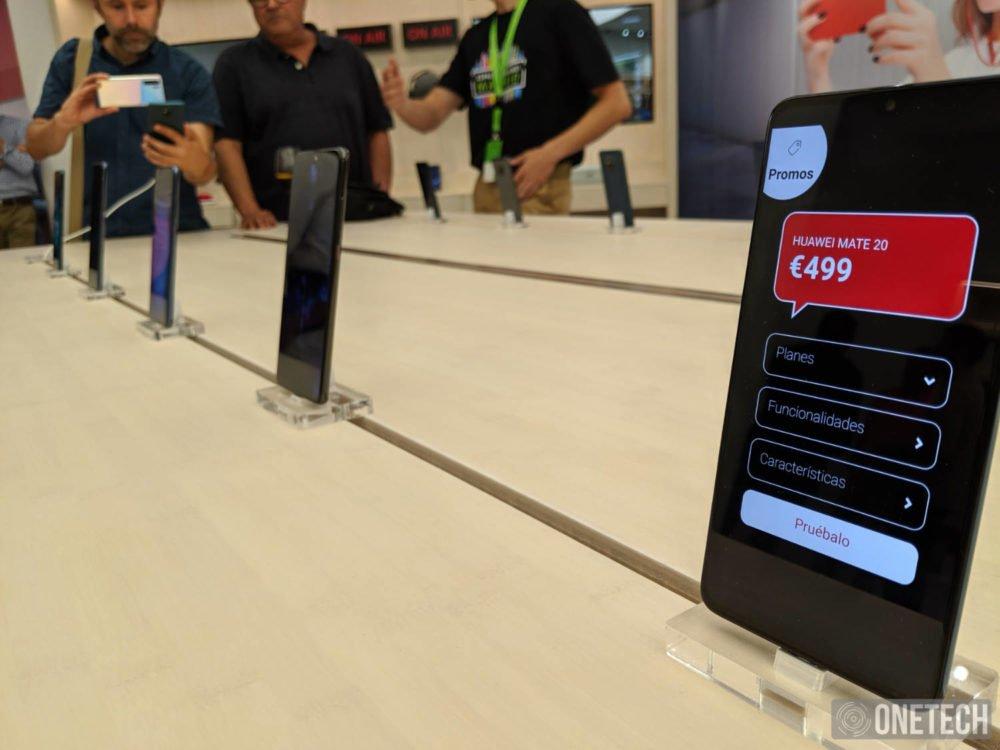 Te mostramos el Espacio Huawei en Madrid, al completo 3