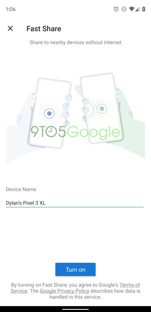 Fast Share, el sistema para compartir que sustituirá a Android Beam 3