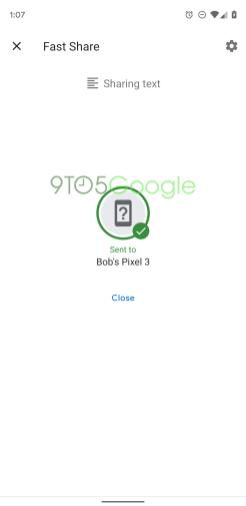 Fast Share, el sistema para compartir que sustituirá a Android Beam 4
