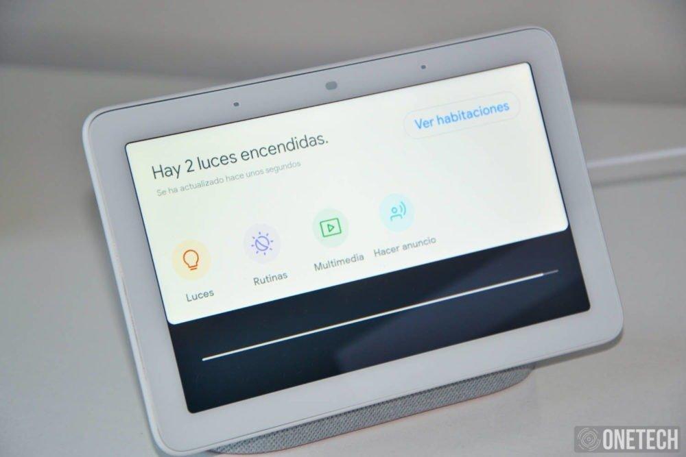Probamos el Google Nest Hub. Porque en una pantalla todo luce mejor 2