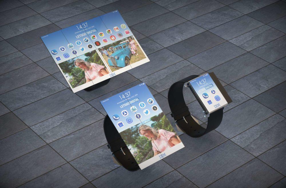 IBM patenta un Smartwatch que se convierte en tablet 4