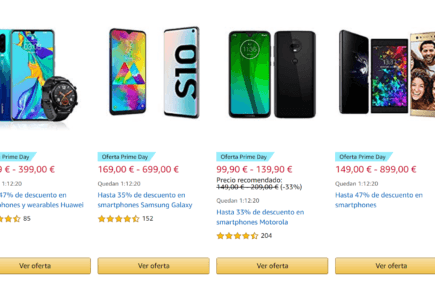 Ofertas Smartphones Amazon