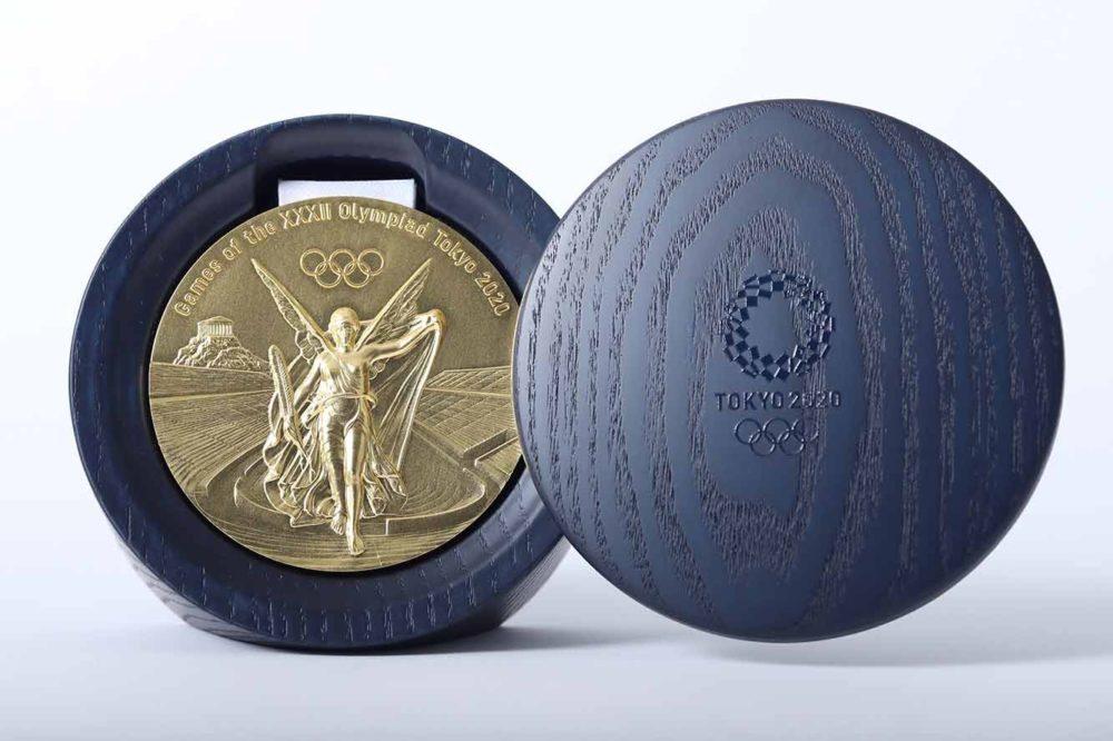 Cajas medallas tokio 2020