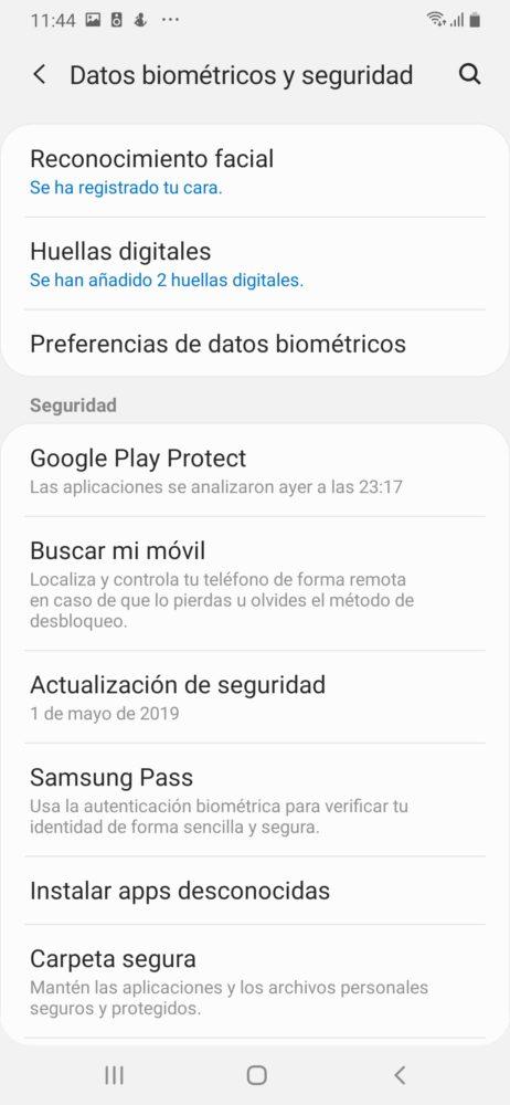 Samsung Galaxy A50, un duro competidor para la gama media - Análisis 11