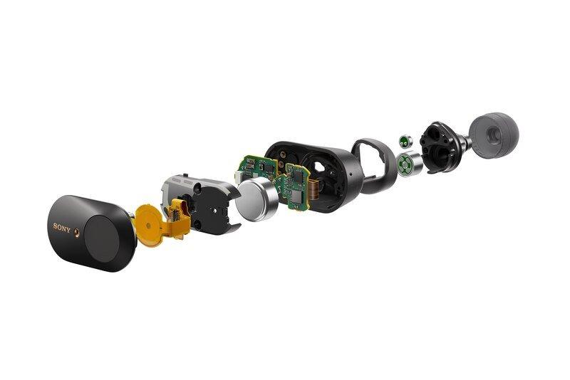 WF-1000XM3 los auriculares con cancelación de ruido de Sony 1