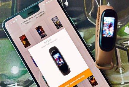 Cambiar pantalla Xiaomi Mi Smart Band 4