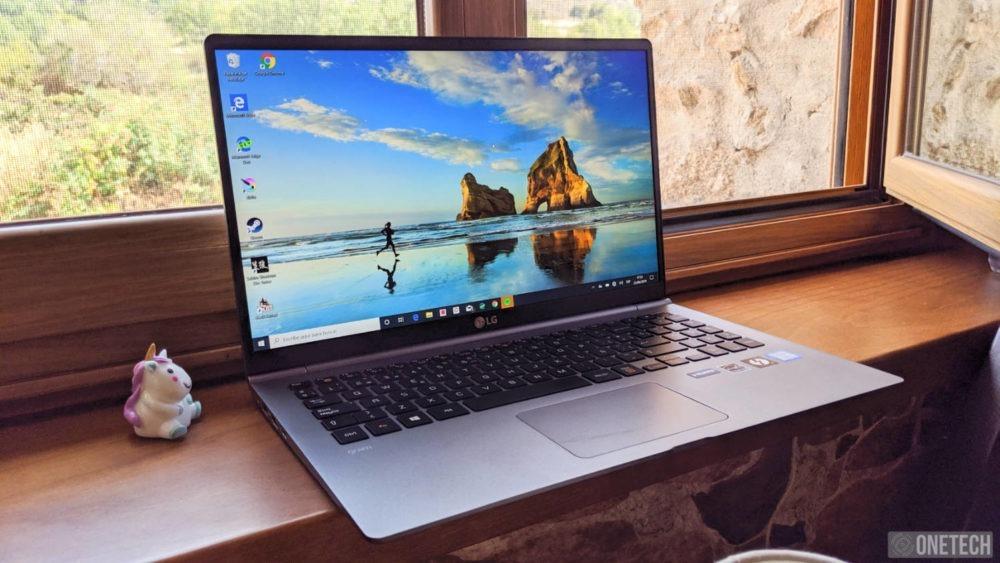 LG Gram (15Z990), analizamos este portátil ligero y extrafino 1