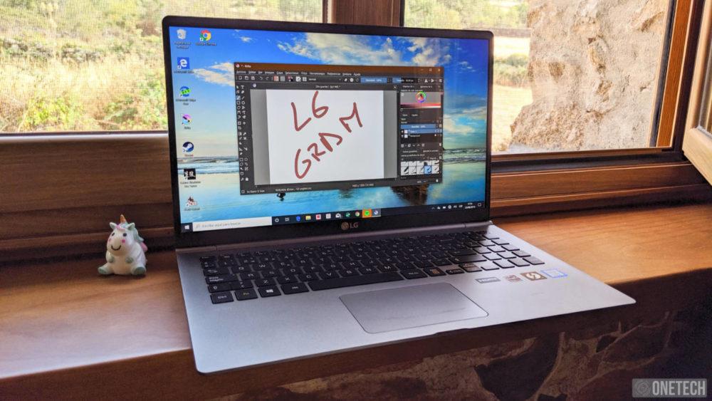 LG Gram (15Z990), analizamos este portátil ligero y extrafino 8