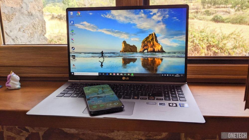 LG Gram (15Z990), analizamos este portátil ligero y extrafino 16