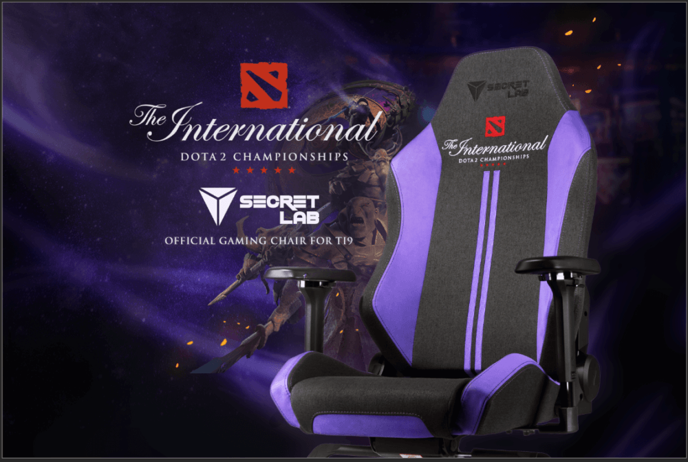 Secretlab Official chair for TI9