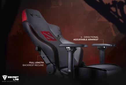 Secretlab lanza una edición especial Dota 2 de sus sillas gamer 1