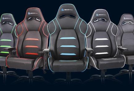 Newskill  presenta cinco nuevas sillas Gaming 3