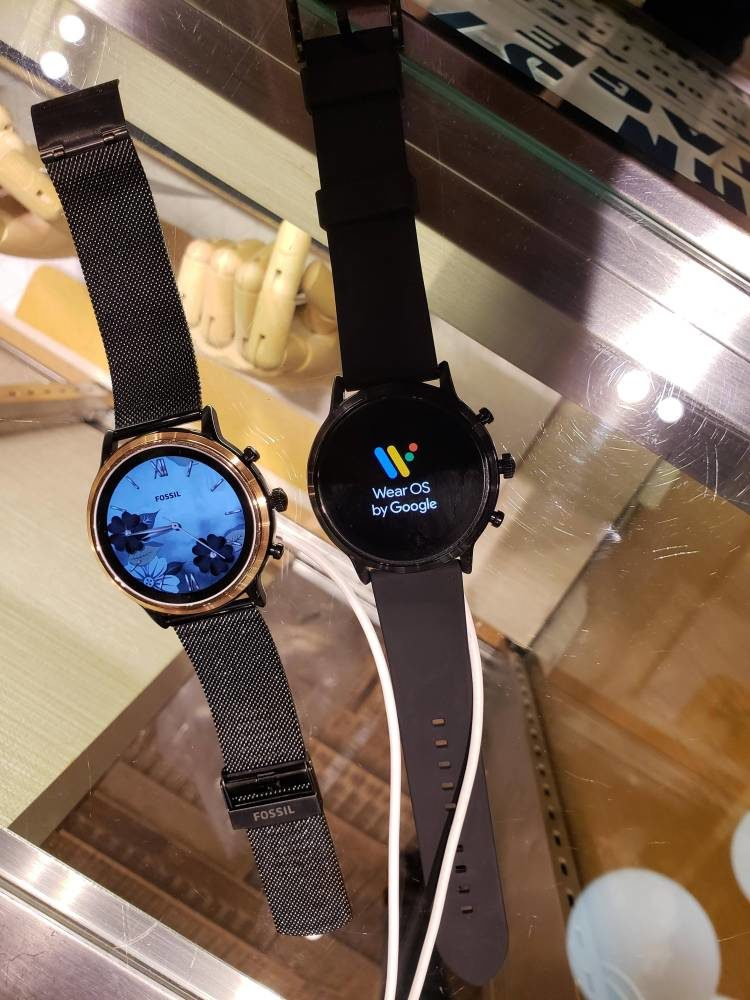 smartwatch de Fossil