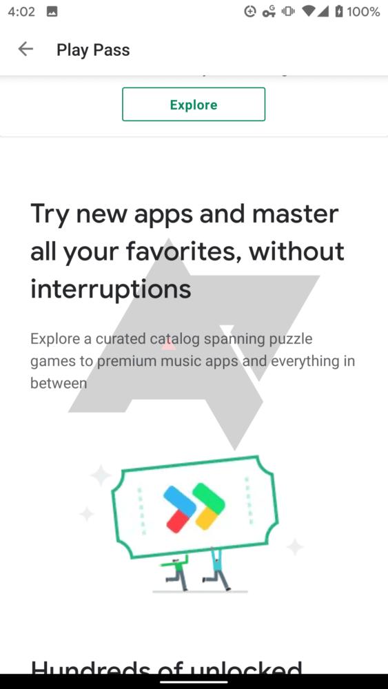 Google Play Pass, el servicio de suscripción de Google se filtra 1