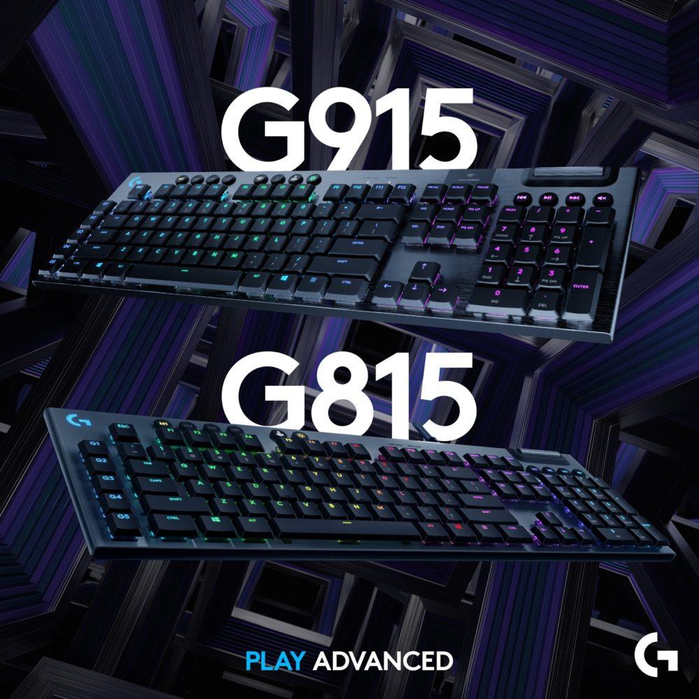 teclados G915 y G815