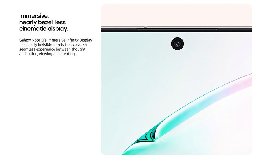 Galaxy Note 10, se filtran materiales de promoción confirmando diversos puntos 1