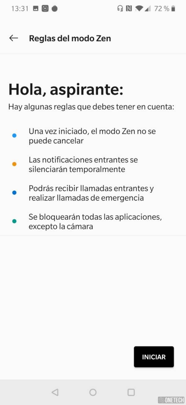OnePlus publica el Modo Zen en la Google Play Store 4