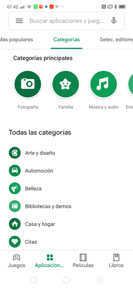 La Play Store recibe el diseño Material Theme de Android 8