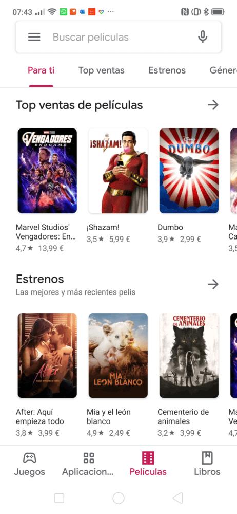 La Play Store recibe el diseño Material Theme de Android 9