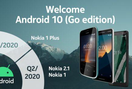 Android 10 Go llegará en 2020 a los Nokia 1, Nokia 1 Plus y Nokia 2.1 1
