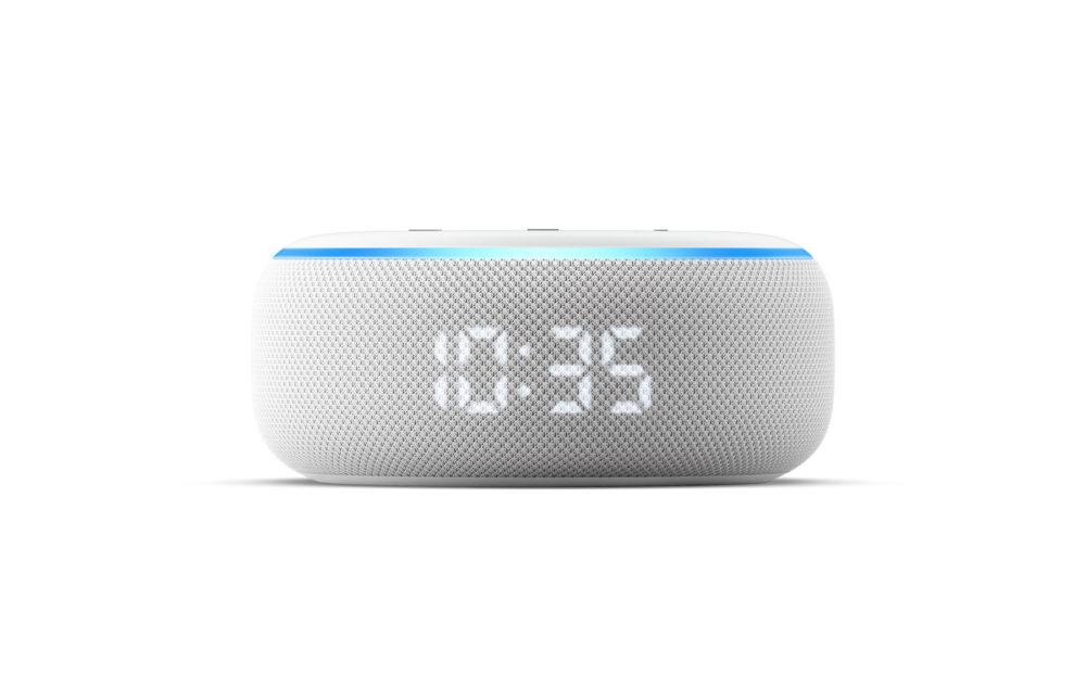 El Echo Dot, ahora viene con reloj