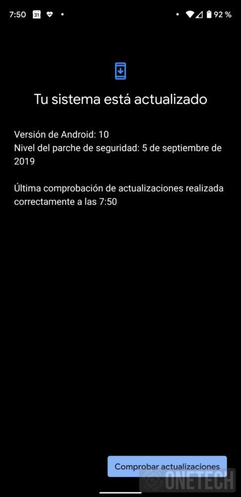 Una nueva actualización de Android 10 llega a los Google Pixel 2