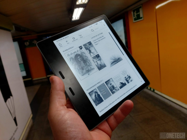 "Kindle Oasis, analizamos ""el mejor Kindle de Amazon"" 7"