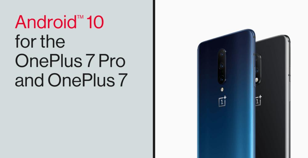 Android 10 comienza a llegar a los OnePlus 7 y 7 Pro 1