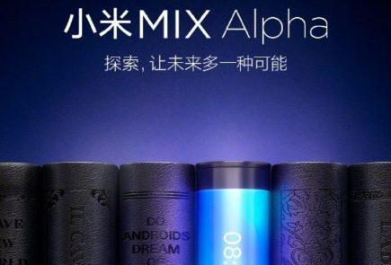 Mix Alpha, el teléfono sin laterales de Xiaomi se presentará en unos días 2