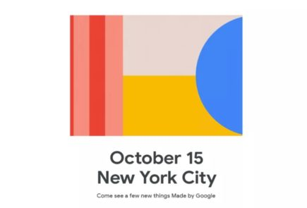 Google anuncia un evento para el 15 de Octubre donde veremos el Pixel 4 1