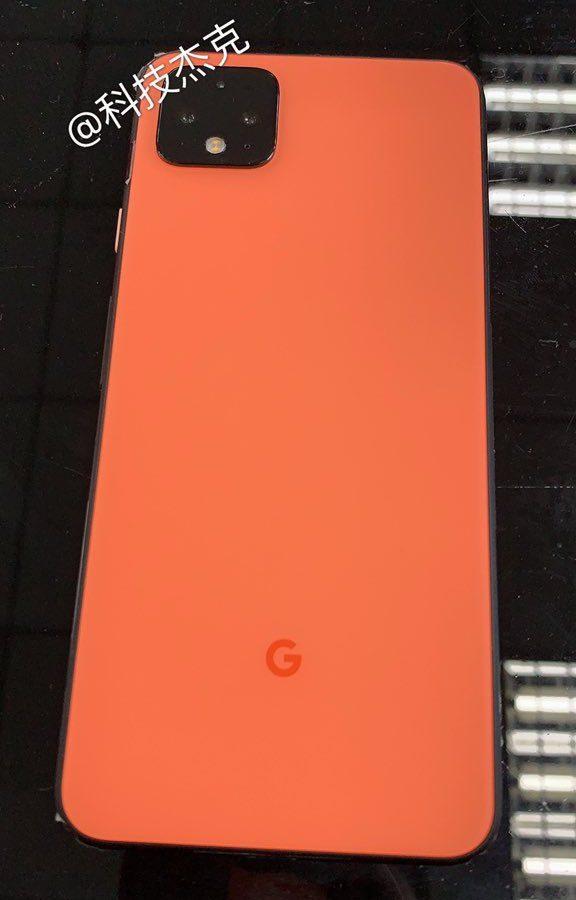 El Google Pixel 4 se deja ver en una imagen en color Coral [Nuevas imágenes] 2