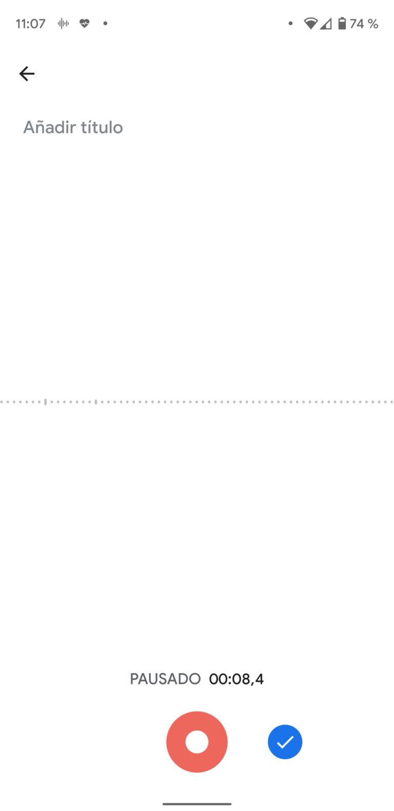 Así es la Grabadora que veremos en los Google Pixel 4 3
