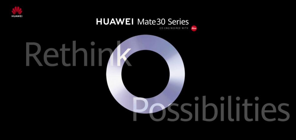 Huawei Mate 30 Series se presentará el 19 de Septiembre, es oficial. 1