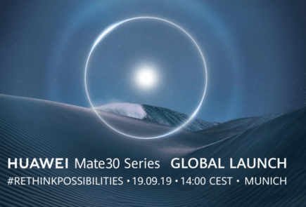Evento de Huawei Mate 30