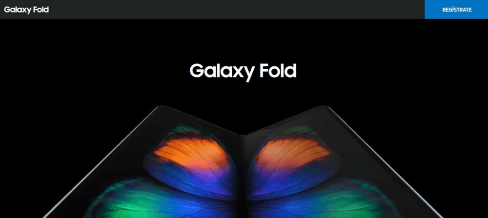 Samsung vuelve a abrir el registro para el Galaxy Fold 1