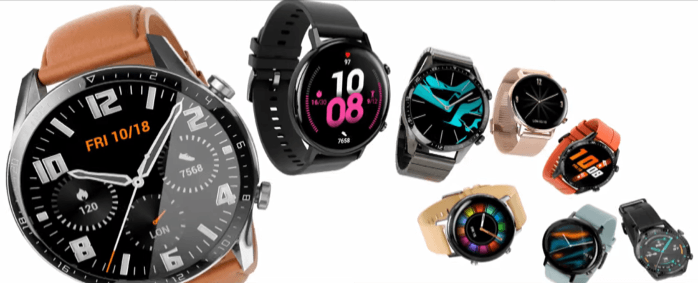 Huawei Watch GT 2, dos semanas de duración y pantalla 3D 1
