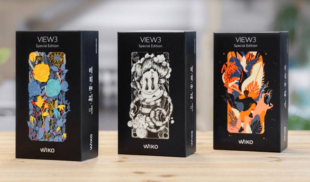 Wiko lanza tres ediciones especiales del View3 1