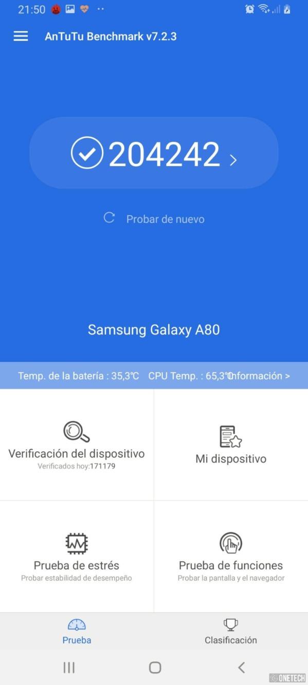 Samsung Galaxy A80, probamos este terminal con cámara giratoria 29