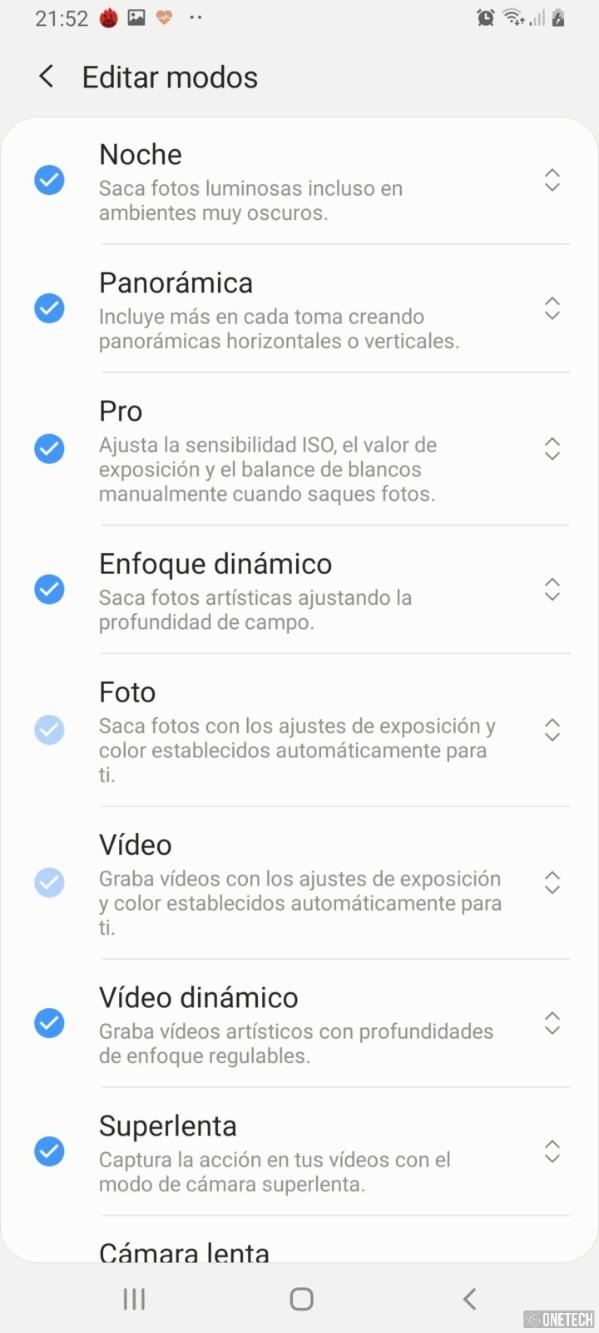 Samsung Galaxy A80, probamos este terminal con cámara giratoria 6