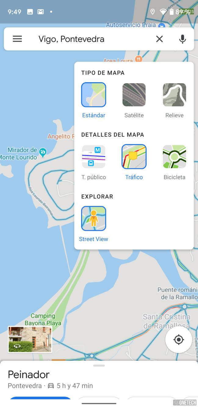 Google Maps añade Street View como nueva capa en Android 4