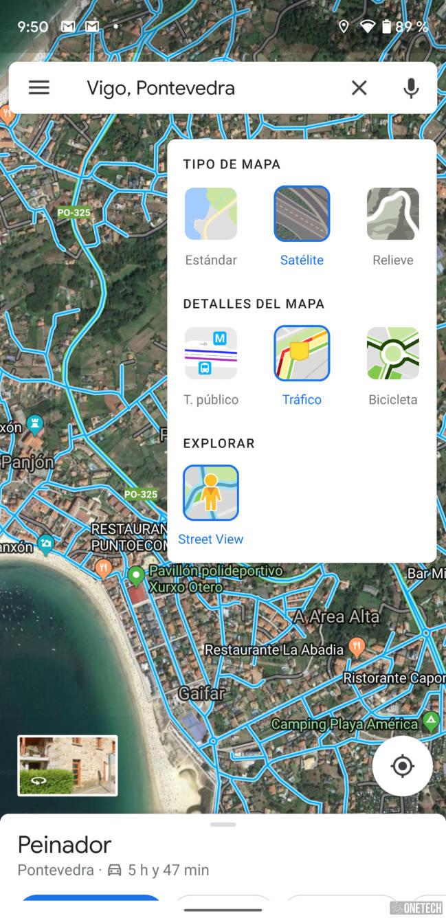 Google Maps añade Street View como nueva capa en Android 3
